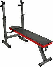 Sports Banc de Musculation avec Support de Barres
