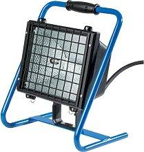 Spot chantier projecteur halogène 1000 w,bleu