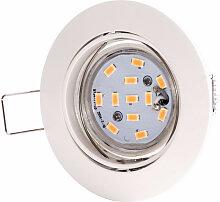Spot DEL encastré éclairage luminaire lampe LED