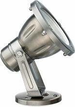 Spot en acier ges110 led ip65 projecteur au sol