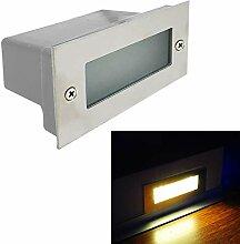 Spot encastrable 15 LED de 4 W, éclairage mural,