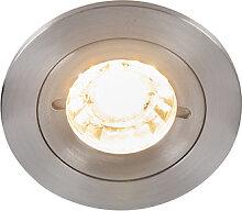 Spot encastrable moderne en aluminium IP44 - Xena