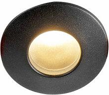 Spot Encastrable / Plafonnier Moderne noir IP44 -