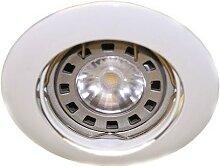 Spot encastré LED 4.5W blanc Ø 84mm orientable