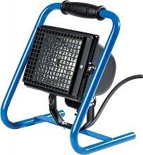 Spot halogène 400 W projecteur de chantier bleu