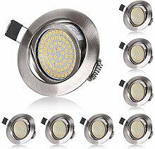 Spot LED Encastrable Orientable 5W Blanc Chaud