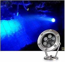 Spot LED Piscine Angle Réglable IP68 Étanche