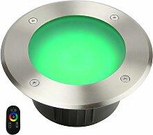 Spot led RGB+CCT (multicouleur + blancs chaud et