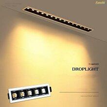 Spot lumineux encastrable créatif en ligne,