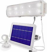 Spot solaire 102091 N/A blanc A548641 - Esotec
