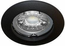 Spots noirs - Spot fixe Noir GU10 max 50W