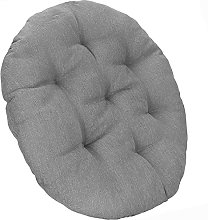 SPRINGOS Coussin rond matelassé pour fauteuil