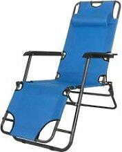SPRINGOS® Transat jardin exterieur Chaise longue