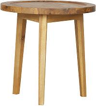 Sprokkeltafel - Table basse en bois Ø45cm