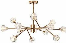 Sputnik Lustre K9 (K9) Cristal Lustre Moderne