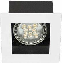 Sq100 sx gu10 max50w par16 blanc mat (DO14030)