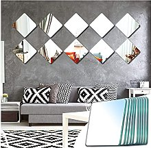 Sqinor Miroir Mural Verriere Adhesif Carré