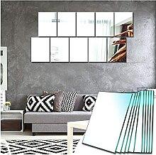 Sqinor Miroir Mural Verriere Adhesif Rectangulaire
