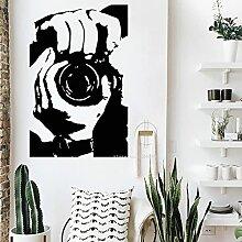 SSCLOCK Photographe Stickers muraux Photo Salon