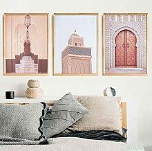 SSHABC Architecture Islamique Maroc Porte Vintage