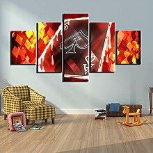 SSHABC Impressions sur Toile Peinture Cartes à