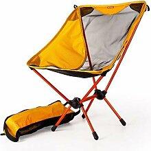 SSJIA Chaise de Camping Chaise de pêche de Haute