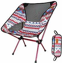 SSJIA Chaise de Camping Chaise Pliante Portable