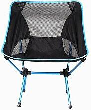 SSJIA Chaise de Camping léger extérieur Compact