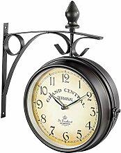 St. Leonhard Horloge de gare double face au design