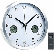St. Leonhard Horloge Murale Radio-pilotée avec