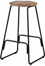 Stable Chaise de bar tabouret de bar en fer forgé