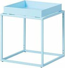 Stacio - table d'appoint carrée métallique