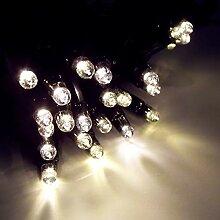 Star Guirlande lumineuse en caoutchouc Noir