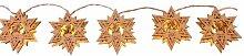 Star Guirlande lumineuse LED Thème Noël allemand