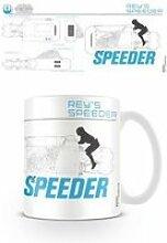 Star wars episode vii - mug reys speeder sketch
