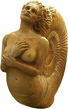 Starall Sculpture de femme, ammonite esprit