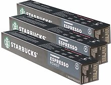 Starbucks Espresso Roast Lot de 3 capsules de