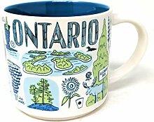 Starbucks Ontario Tasse à café Across The Globe