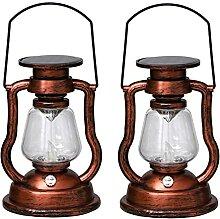 Starsmyy Lampe Solaire De Nuit Vintage - LED Style