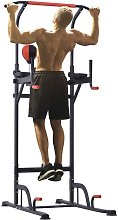 Station de traction musculation multifonctions