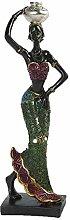 Statue africaine Vintage, Figure africaine