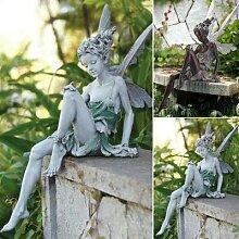 Statue de fée Tudor et turque, fontaine
