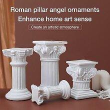 Statue de pilier romain nordique, ornement de