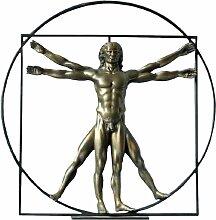 Statuette Léonard de Vinci H22cm