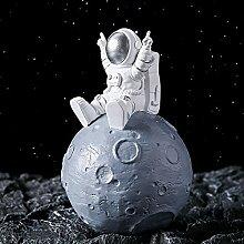 Statuetteastronaute Spaceman Tirelire Peut Être