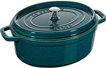 Staub - Cocotte Ovale Cocotte Blue La Mer 37cm