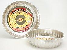 Steel Pan Moule à gâteau haut sans stick 28