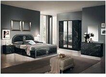 Stelya - chambre complète avec lit 160x200cm