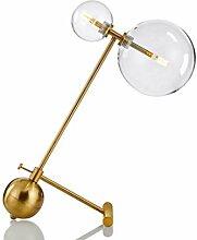 STERB Boule de Verre en Fer postmoderne LED Lampes