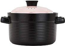 Stew Pot en céramique Cocotte marmite à soupe